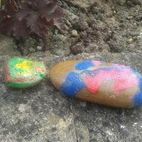 pebble painting 8